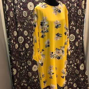 AVA and VIV yellow floral dress!!!